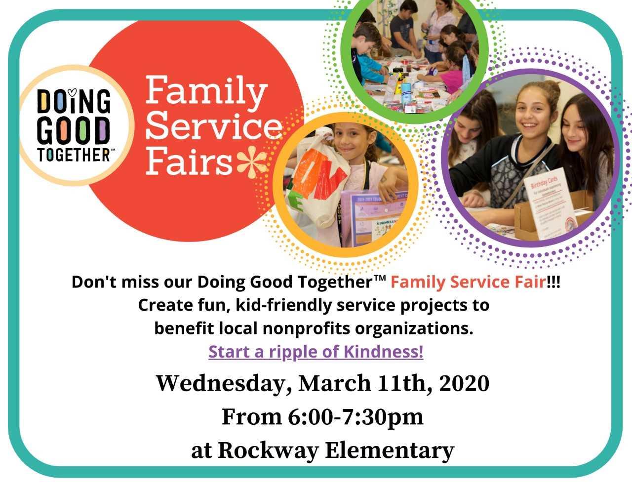 Family Service Fair Flyer