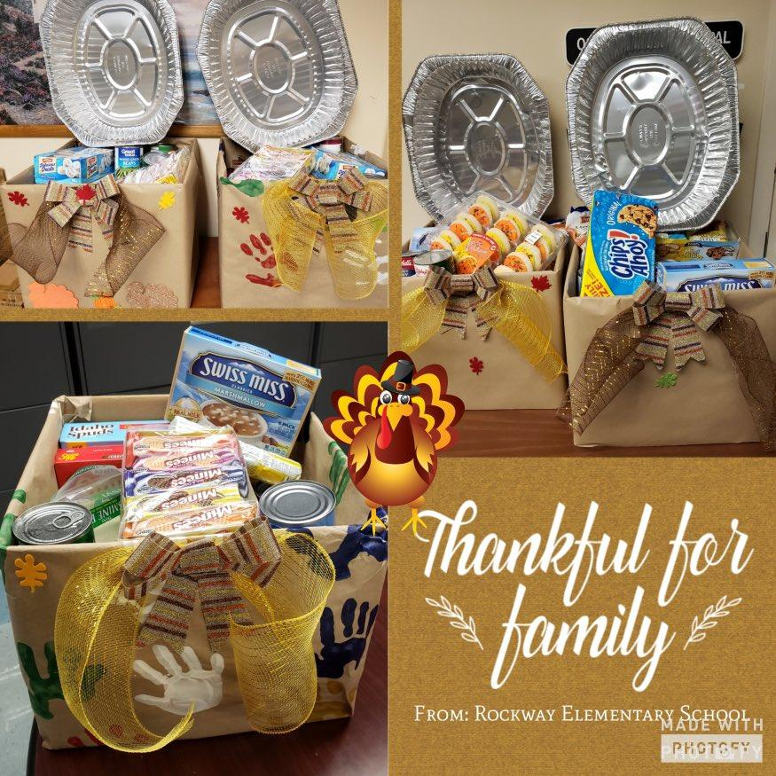 Thanksgiving Family Donations